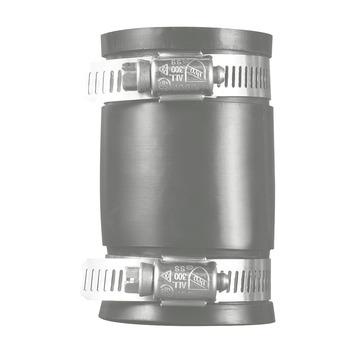Martens koppeling recht flexibel rubber 88-75 mm