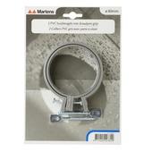 Martens buisbeugels PVC met draadpen 80 mm 2 stuks