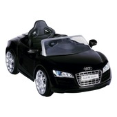 Accu auto Audi R8 zwart