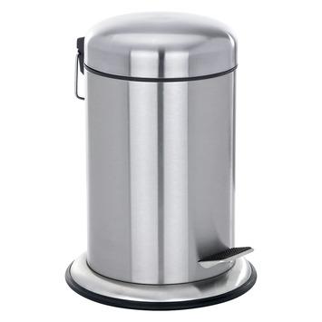 Wenko Pedaalemmer Nova Rond RVS 5 Liter