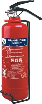 Smartwares poederblusser BB1NL 1kg