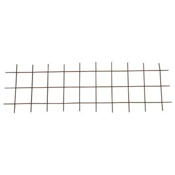 Bouwstaalmat / betongaas roest 0,5x1,5 meter