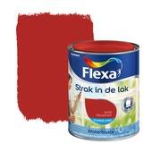 Flexa Strak in de Lak signaalrood zijdeglans 750 ml