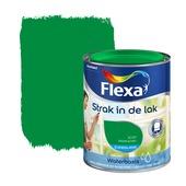 Flexa Strak in de Lak kikkergroen zijdeglans 750 ml