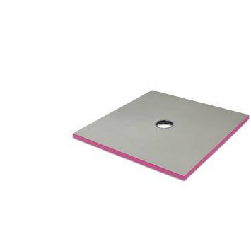 QBOARD Liquid douche-element 120x120cm 40mm