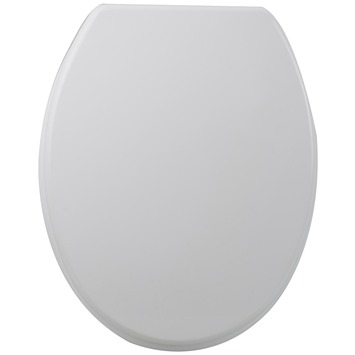 Handson WC bril Salomon Wit Hout met Softclose