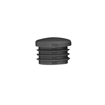 Steigerbuis inslagdop zwart Ø 27 mm