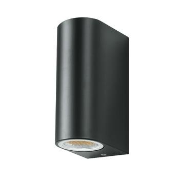 GAMMA Buitenlamp Liverpool 2 lichts donker grijs LED GU10 7W
