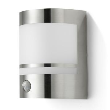 Buitenlamp Met Sensor Gamma.Gamma Gamma Buitenlamp Sheffield Rvs Met Bewegingssensor E27 15w