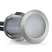 GAMMA Inbouwspot Preston RVS LED 2W 3 stuks