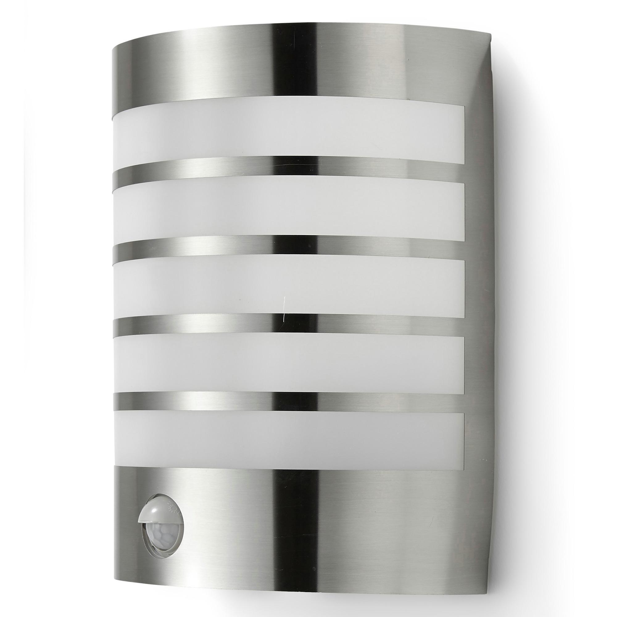 GAMMA buitenlamp Prescot RVS met bewegingssensor