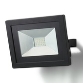 GAMMA Breedstraler zwart LED 10W