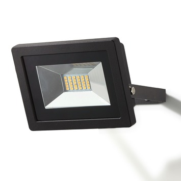 GAMMA Breedstraler zwart LED 20W