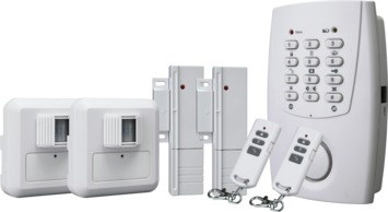 Smartwares Draadloos Alarmsysteem met Bewegingsmelders, Magneetdetectoren en Telefoonkiezer HA32S