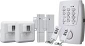 Smartwares Mini Alarmsysteem met 2 Bewegingsmelders, 2 Magneetdetectoren en Telefoonkiezer HA32S Draadloos