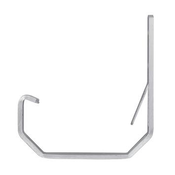 Martens gootbeugel aluminium kort t.b.v. minigoot 65 mm