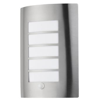 Buitenlamp Met Sensor Gamma.Gamma Gamma Buitenlamp Swansea Rvs Met Dag Nacht Sensor E27 15w