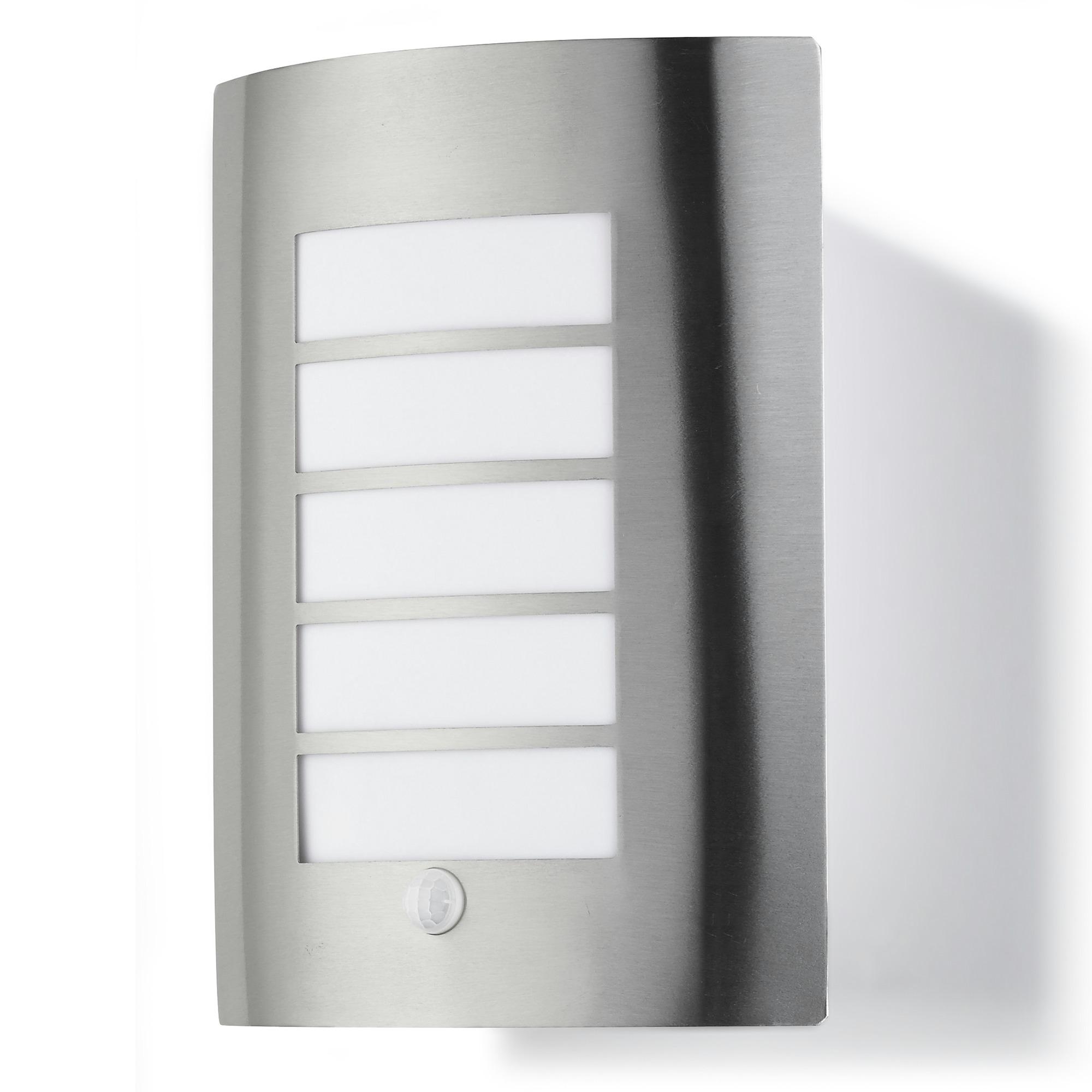 GAMMA buitenlamp Swansea RVS met bewegingssensor