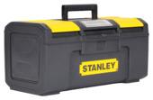 Stanley gereedschapskoffer design zwart 16 inch