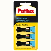 Pattex secondelijm mini 3x1 gram
