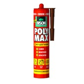 Bison Poly Max express universele montage- en afdichtingskit bruin 425 gram