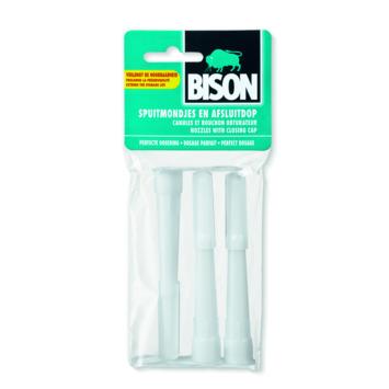 Bison spuitmondjes set 3 stuks