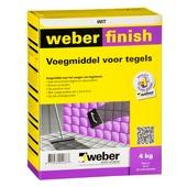 Weber Wand & Vloer voegmiddel wit 4 kg