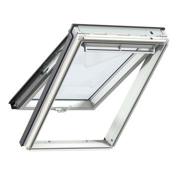 Velux uitzettuimelvenster HR++ veiligheidsglas wit afgelakt UK04 134x98 cm