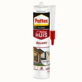 Pattex Huis en Bouw siliconenkit transparant 300 ml