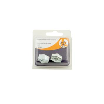 Draadklem simplex 4 mm 2 stuks