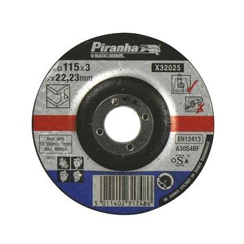 Piranha doorslijpschijf metaal 115 mm X32025