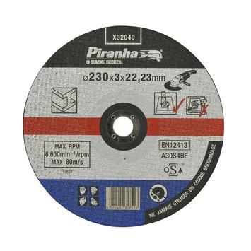 Piranha doorslijpschijf metaal 230 mm X32040