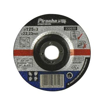 Piranha doorslijpschijf metaal 125 mm X32030