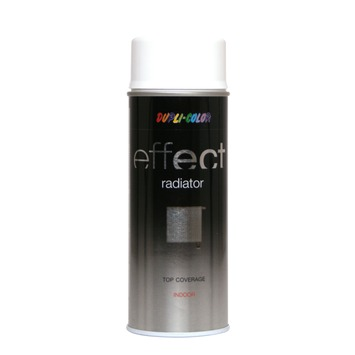 Dupli Color spuitbus radiatorlak wit mat 400 ml