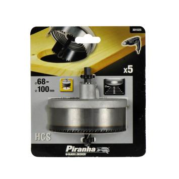 Piranha gatenzaagset 68-100 mm 5-delig X81025