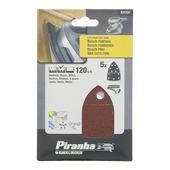 Piranha Bosch PSM schuurstrook K120 5 stuks X31720-XJ