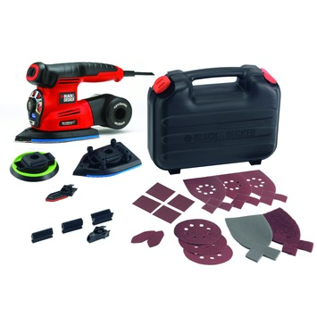Black+Decker multischuurmachine KA280K-QS 220W