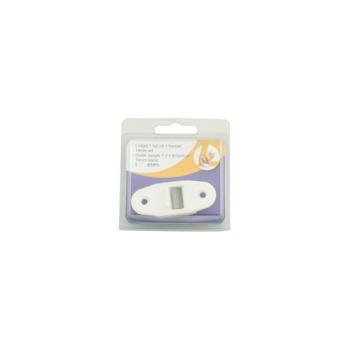 Lintgeleider mini wit 14 mm