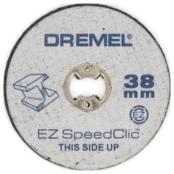 Dremel SpeedClic snijschijf voor metaal 38 mm 5 stuks