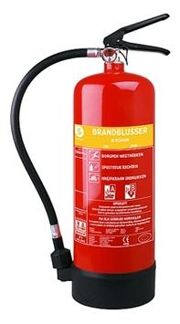 Smartwares Brandblusser SB6 6000 ml Schuim Brandklasse AB Inclusief Ophangbeugel