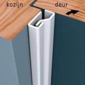 SecuStrip Plus Anti-Inbraakstrip binnendraaiend RAL 9010 (Wit) 205 cm