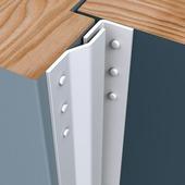 SecuStrip Basic Anti-Inbraakstrip binnendraaiend RAL9010 (Wit) 205 cm
