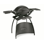 Weber barbecue Q2400 grey stand 80x80 cm