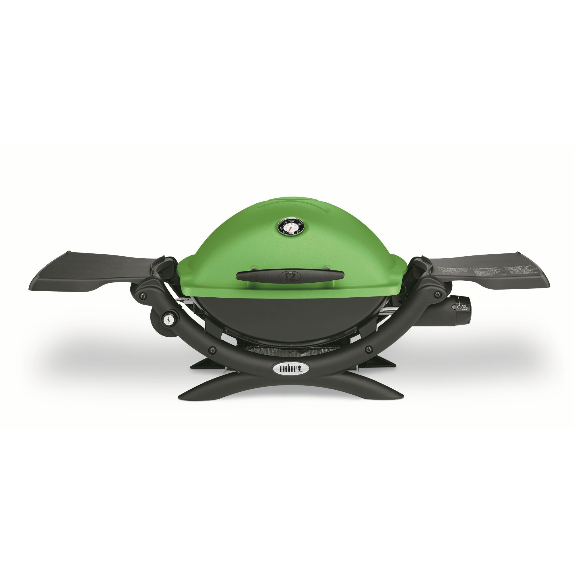 Weber Q1200 Premium gasbarbecue groen