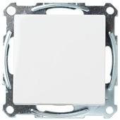 Schneider System-M pure wisselschakelaar wit