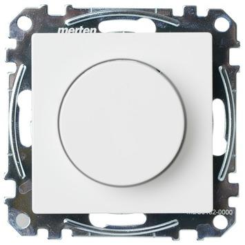 Schneider System-M pure dimmer gloei/halogeenlamp wit