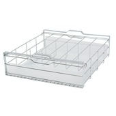 MO Style organiseer chroom 47,5x50,8x17,2 cm