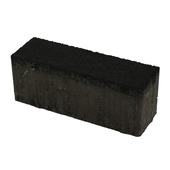 Dikformaat steen antraciet 211x68x80 mm per laag