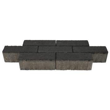 Klinker Beton Antraciet Dikformaat 21x6,8x8 cm - 540 Klinkers / 7,70 m2