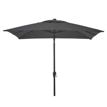 Parasol Ibiza Vierkant Zwart 250x250 cm